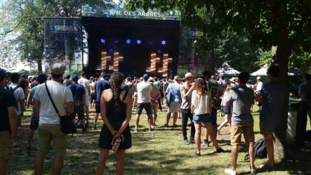 The OBGM's at the Trees Stingray stage. Osheaga 2015. Photo Bélinda Bélice.