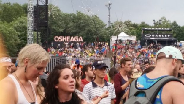 The Osheaga experience. Osheaga 2015. Photo Bélinda Bélice.