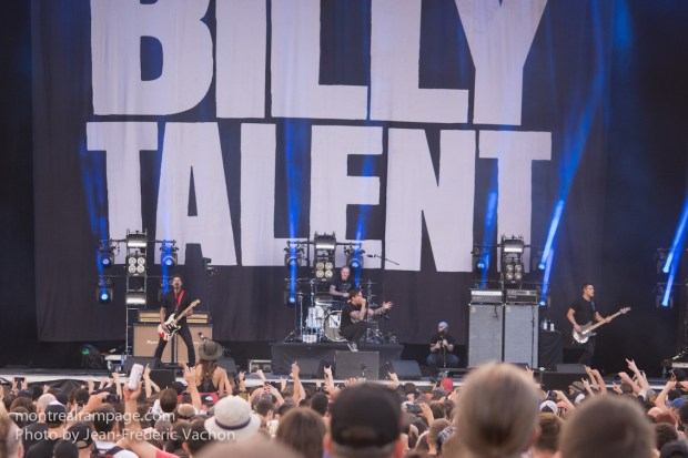 Heavy Montreal - Billy Talent - August 08, 2015 - Photo Jean Frederic Vachon