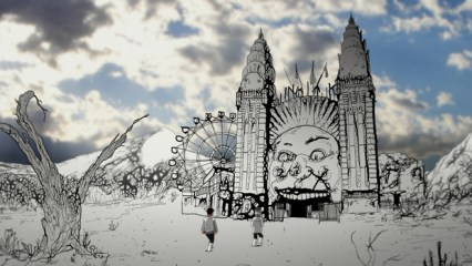 Scene from On the White Planet