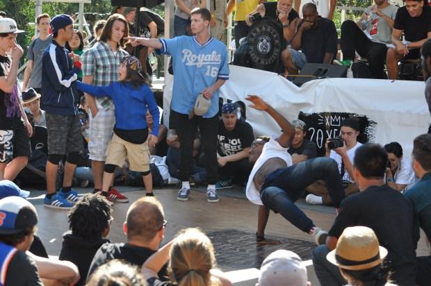Under Pressure 2015. Urban Dance. Photo Sean Lapalme