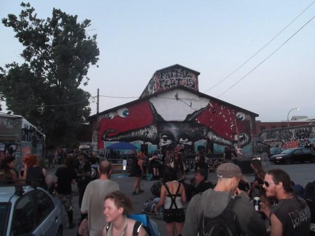 Crowdshot. Fattal Fest. Photo Chris Aitkens.