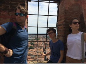 Jason, Sophie, and Jeannine, Bologna, Photo: Julie Santini
