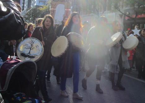 Odaya. Missing and Murdered Aboriginal Women March and Vigil. Photo Rachel Levine