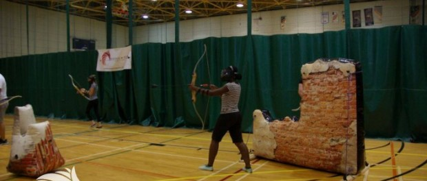 Nicole Yeba in Action with DodgeBow.