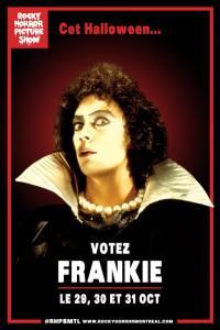 Vote Frankie. RHPSMTL