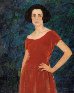 "Randolph S. Hewton, ""Miss Audrey Buller"", About 1919-1920.  Ottawa, National Gallery of Canada. Photo ©NGC"