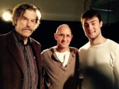 Guy Sprung (AD Infinite Theatre), Oren Safdie (Playwright), Matt Jacobs (actor). Photo Angela Potvin.