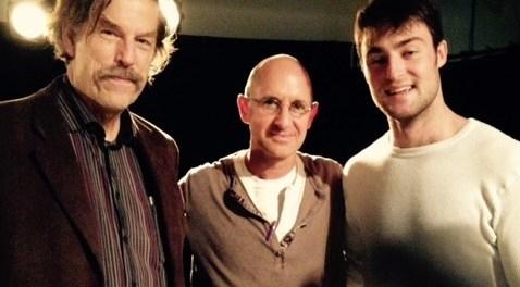 Guy Sprung (AD Infinite Theatre), Oren Safdie (Playwright), Matt Jacobs (actor). Photo Angela Potvin.