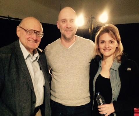 Byron Tobin (critic), Carlo Mestroni (actor), Patricia Summerset (actor). Photo Angela Potvin.
