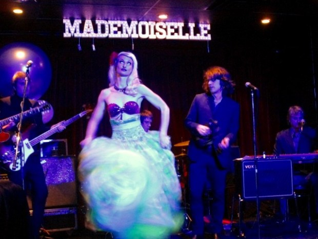 The Lady Josephine and The Continentals. Mademoiselle Opening. Mile End. Photo Rachel Levine