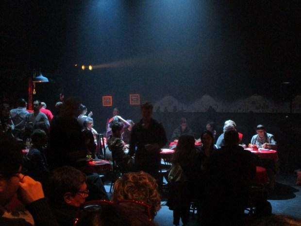 Audience. Urban Tales An Erotic Christmas. Centaur. Photo Rachel Levine