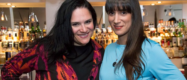 FLorence T. Gauthier and Annie Caron.