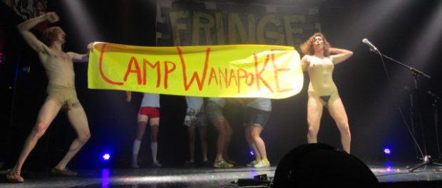 Camp Wapanoke. Montreal Fringe for All. Photo Rachel Levine