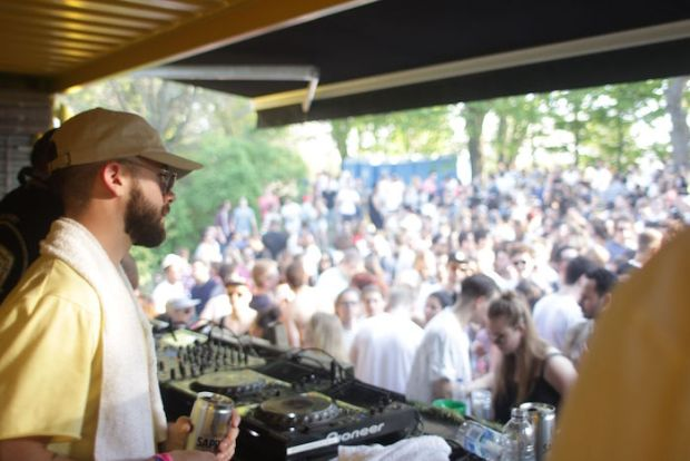 Piknic Electronik. May 22 2016. Photo Jean Marc M'Bahia