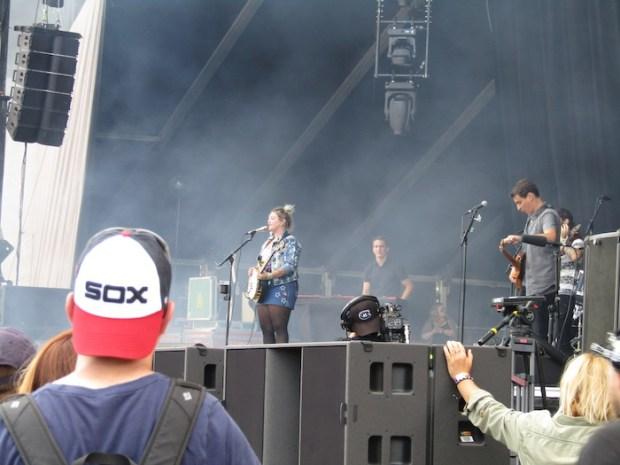 Ellie King. Montagne Stage. Osheaga. Photo Rachel Levine