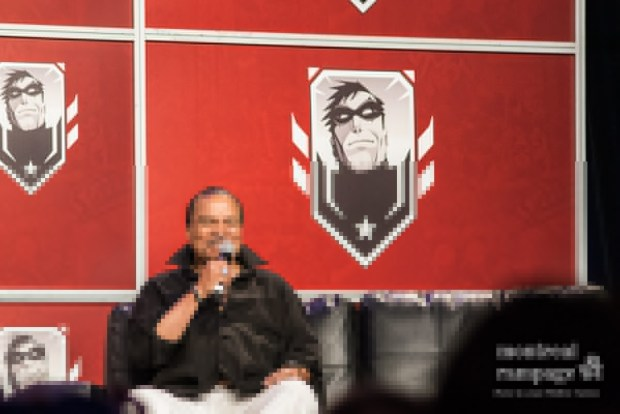 Billy Dee Williams talks about his role as Lando Calrissian (Friday)