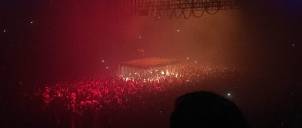 Kanye West at the Bell Cetre. Photo Michael Eidelson