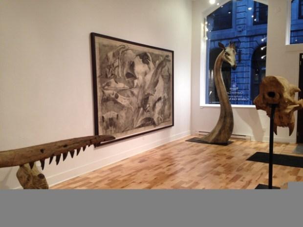 Galerie Got. Flesh and Bones. Quentin Garel. Photo Stephanie Gangé.