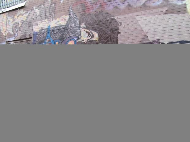 Miss Teri Street Art. Rue Mt. Royal. Photo Rachel LEvine