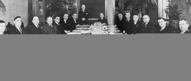 The Godbout cabinet, 1939. Godbout's second term as Premier of Québec and final win against the political giant Duplessis.