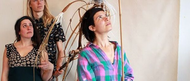 The Heron Walks. Maggie Winston. The Lost & Found PUppet Co.