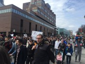 Montreal Protests Against Bill 21. Photo Rachel Levine