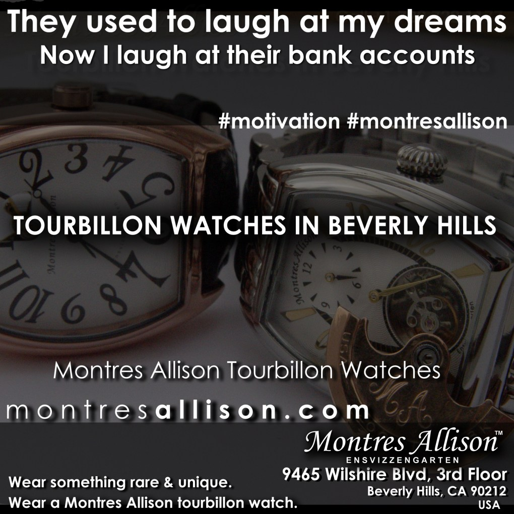 Montres Allison vintage watches