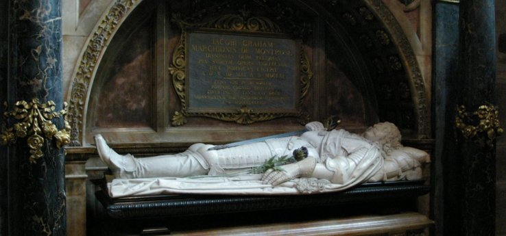 Image result for Marquess of Montrose tomb