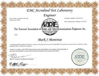 EMC Test Laboratory Engineer Assessment  Montrose