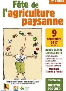 Fete de l'agriculture paysanne