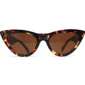 gafas de ojo de gato en carey