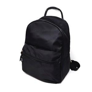 mochila de nylon negro