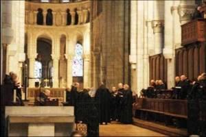 Abbaye du Mont-Saint-Michel chant de l'office divin