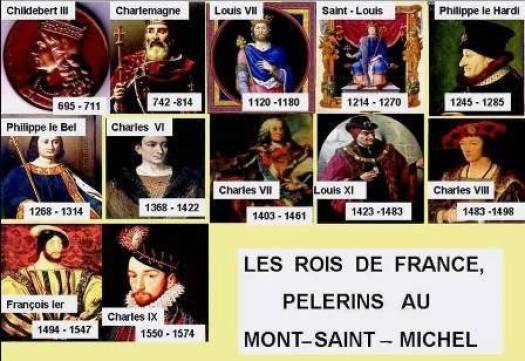 Les Rois de France au Mont-Saint-Michel