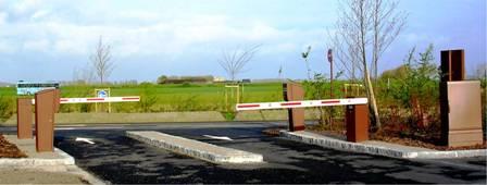 Mont-Saint-Michel Barrières des parkings
