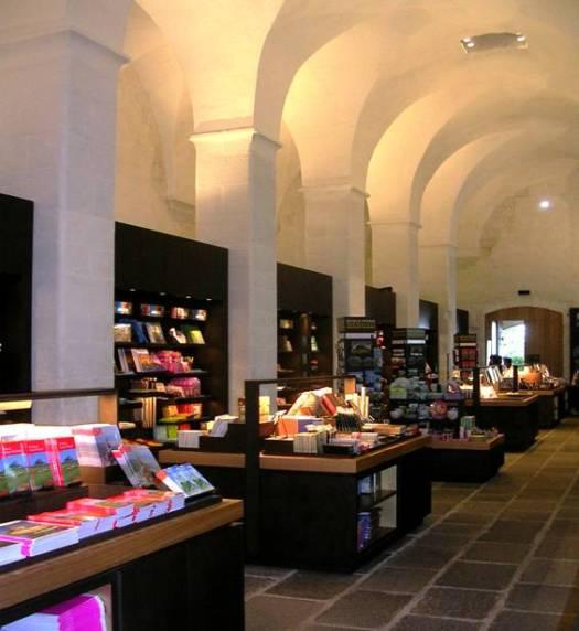 La nouvelle librairie abbaye du Mont-Saint-Michel
