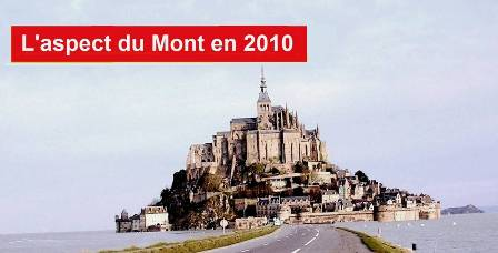 Le Mont-Saint-MIchel en 2010