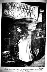Mère Poulard omelette Mont-Saint-Michel