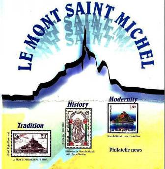 Timbres Mont-Saint-Michel en anglais