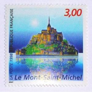 Timbre en 1998 Mont-Saint-Michel