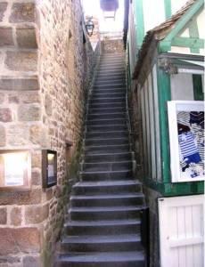 Venelles au Mont-Saint-Michel