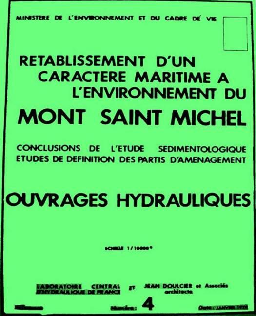 Le Rétablissement du Caractère Maritime du Mont