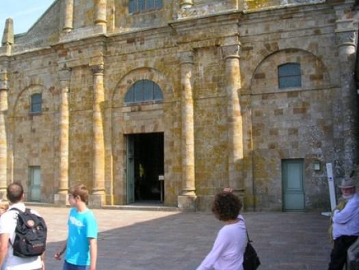 Façade Ouest de l'église abbatiale