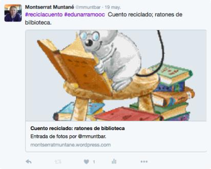 Thumbnail for Cuento reciclado: ratones de biblioteca