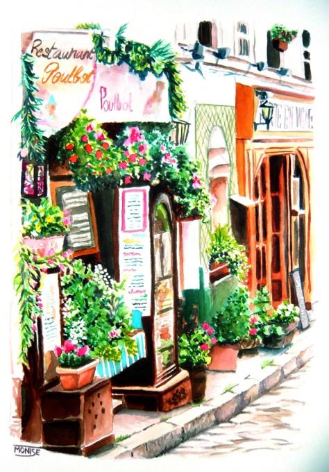 Rue Poulbot Montmartre, Paris (França)