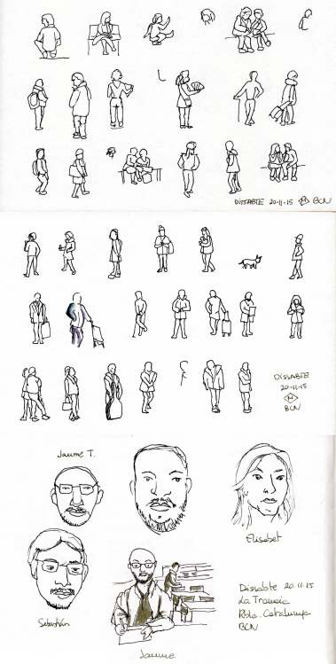 Exercici del Curs d'Sketching | Sketching Workshop Exercise