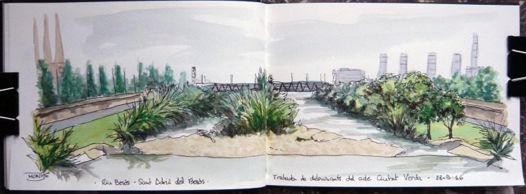 Riu Besòs | Río Besòs | Besòs River