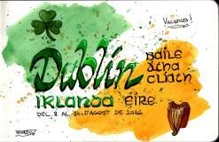 Dibuixos del viatge a Dublín