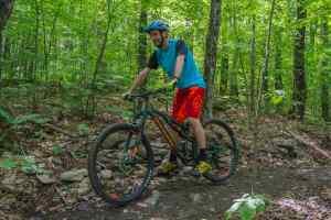 Mountain bike initiation